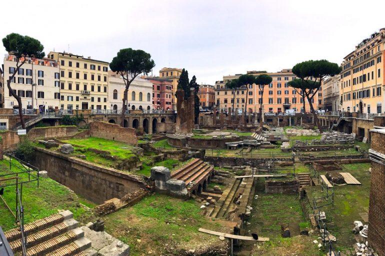 L'Area Sacra di Roma e la leggenda di Cesare