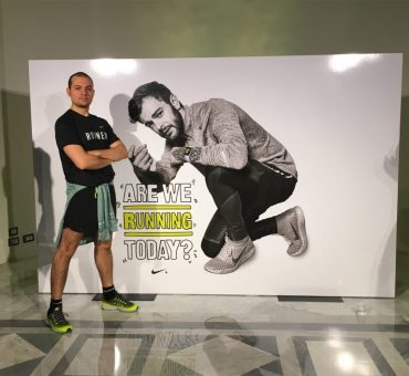 Run With Fragola : con Nike nel cuore di Roma