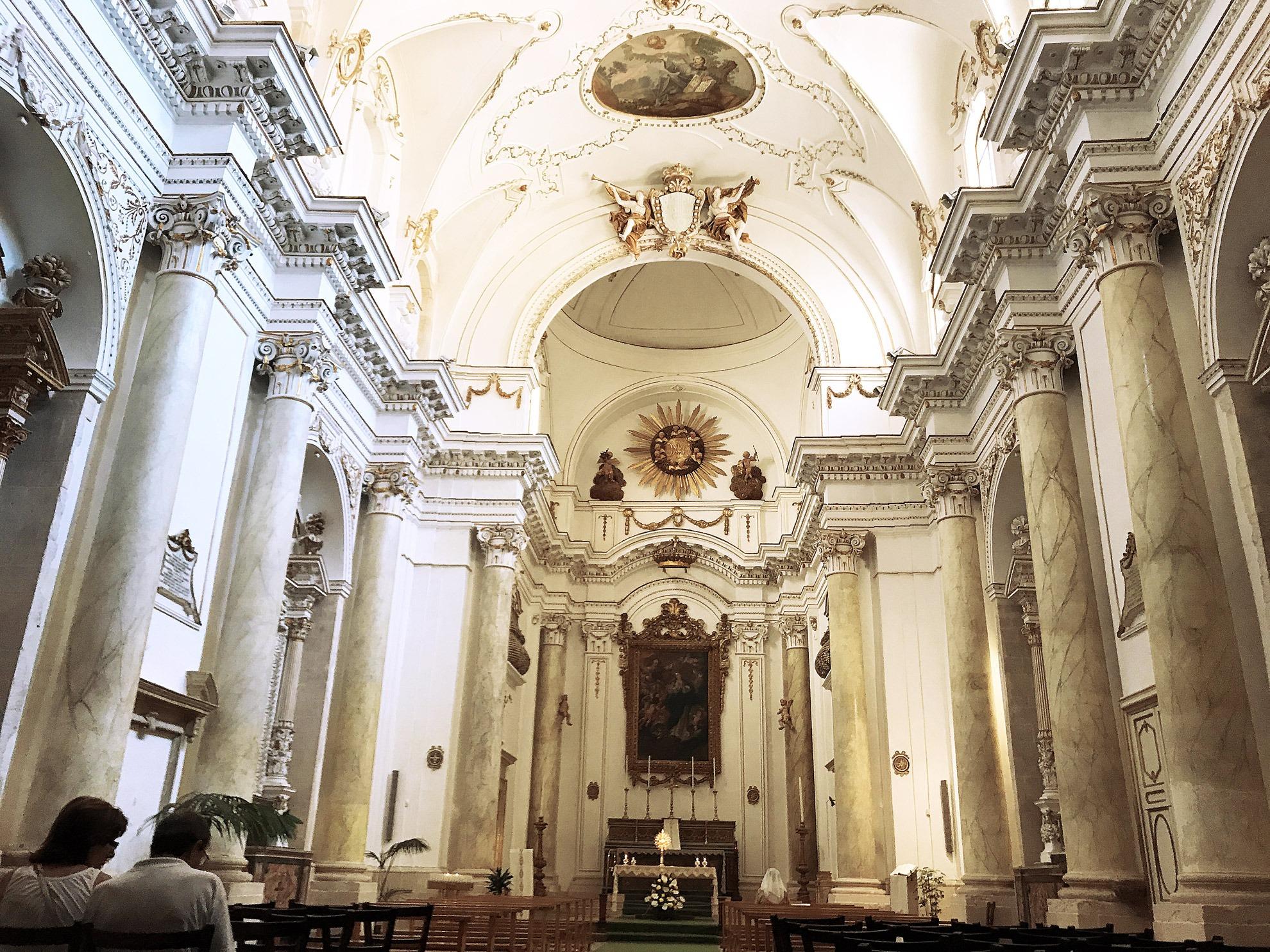 Il maestoso Duomo di Ortigia (Siracusa)