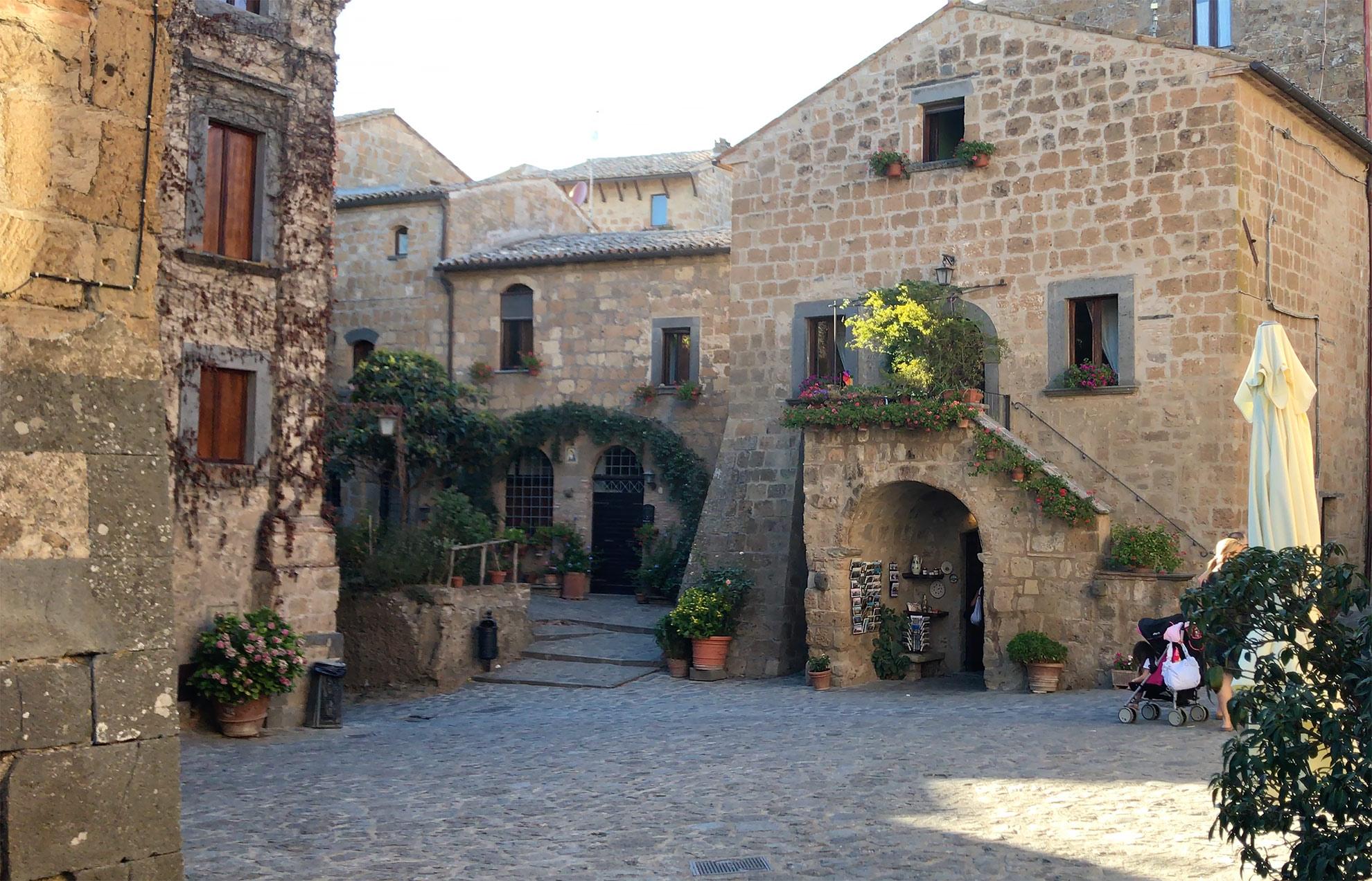 Image result for Cività di Bagnoregio