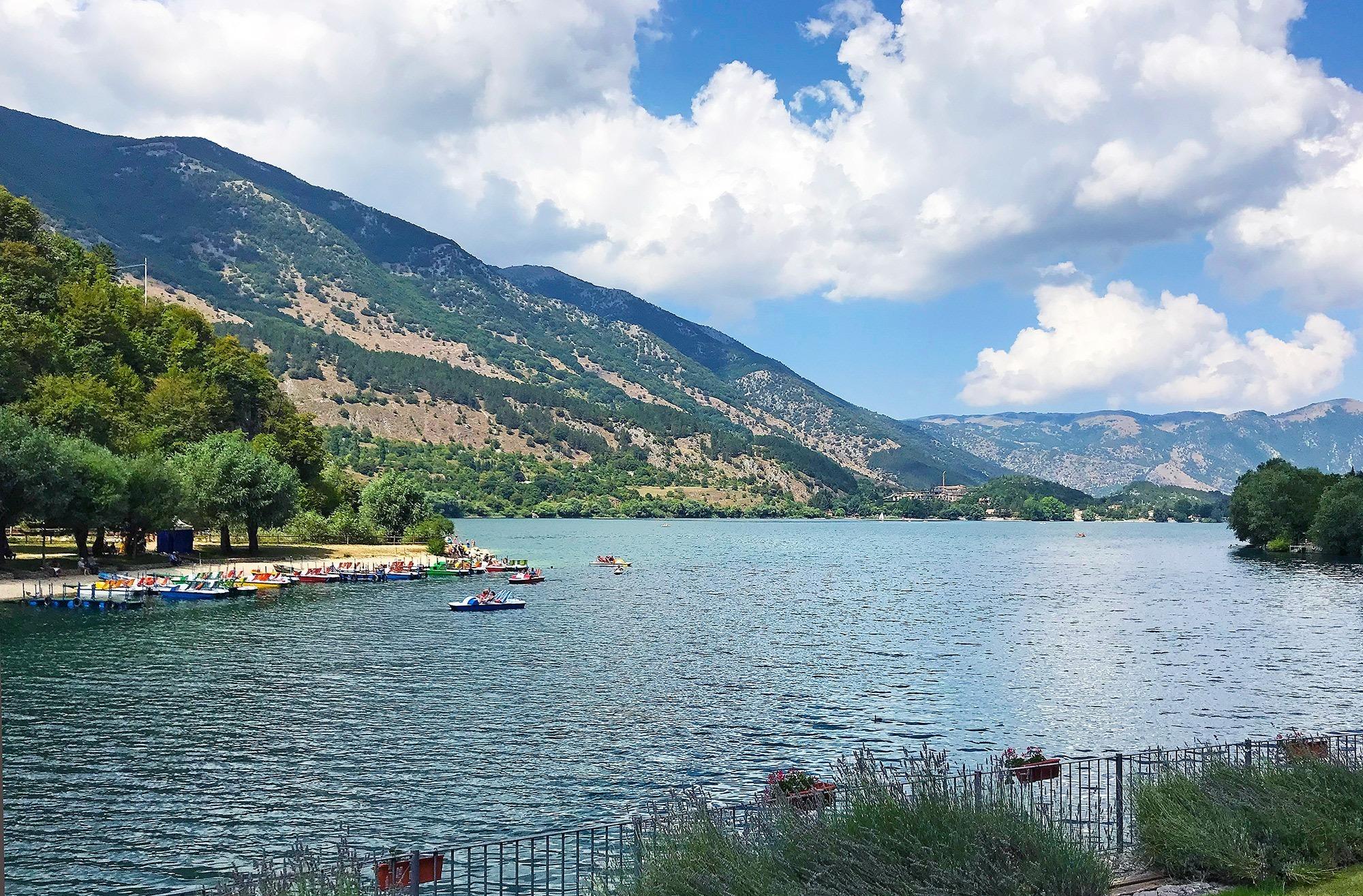 Scanno : il lago