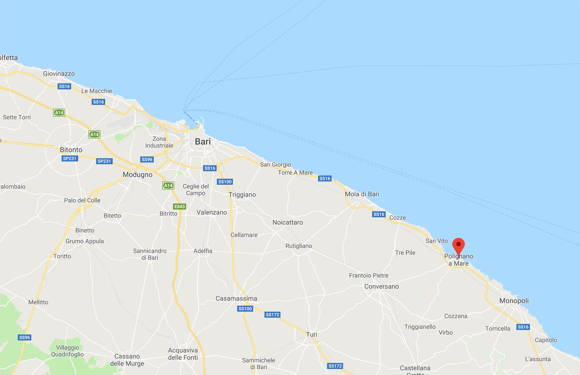 Mappa Puglia