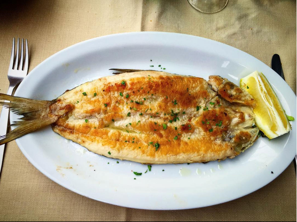 Piatti di cucina di Lago a Piediluco