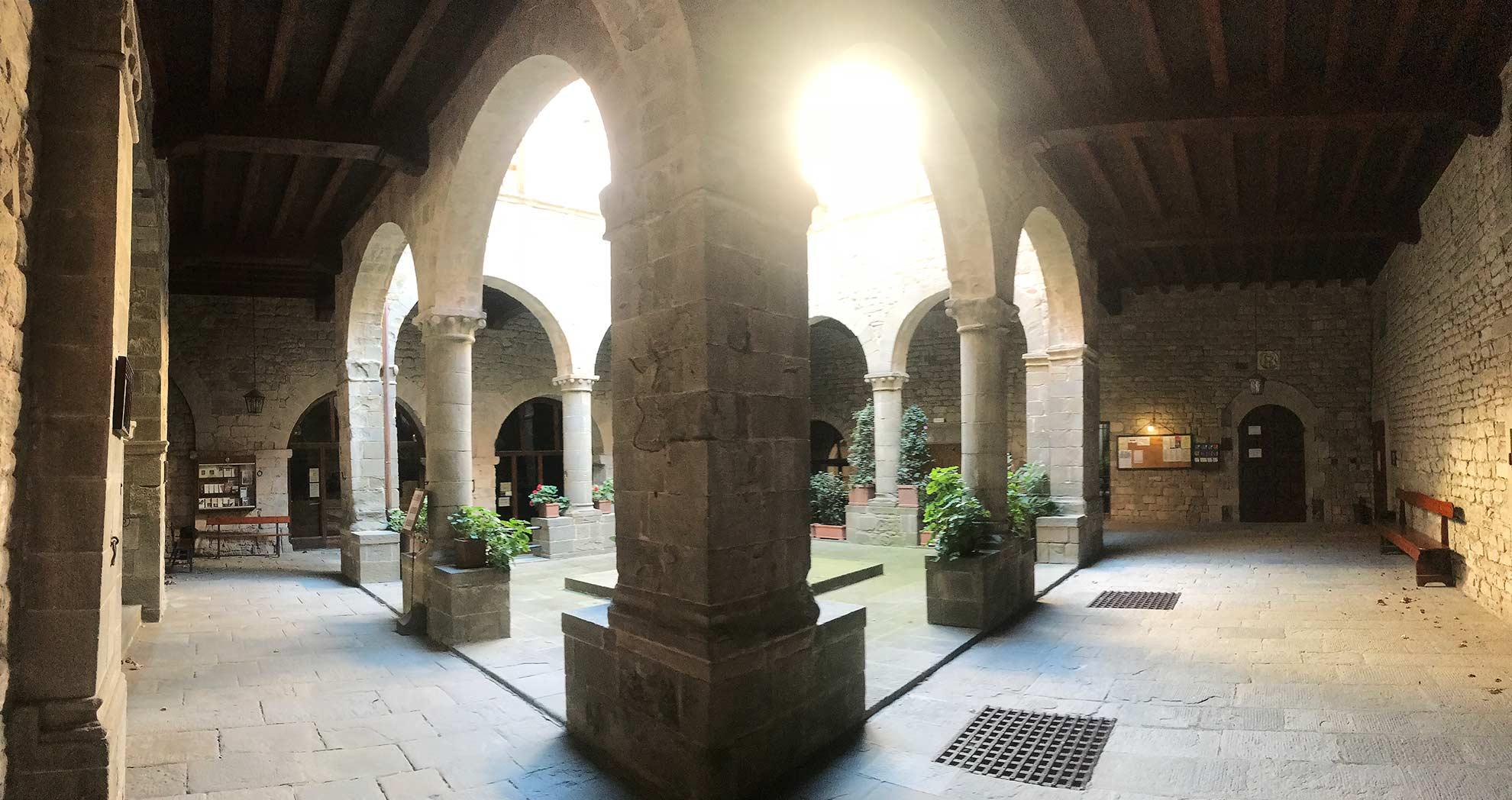 Camaldoli, il monastero