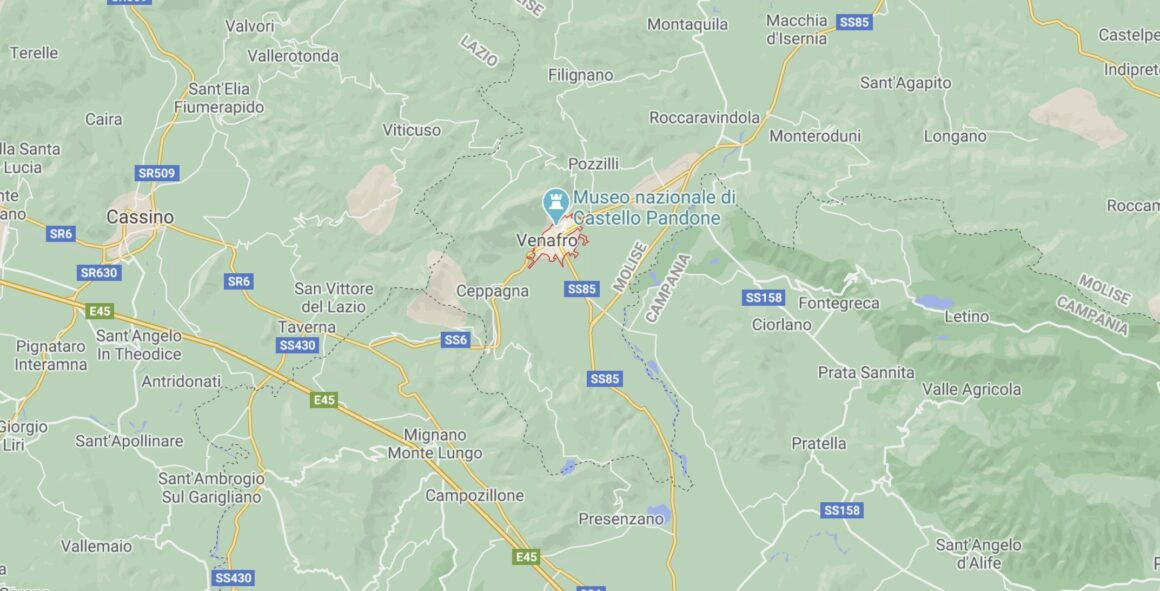 Mappa di Venafro